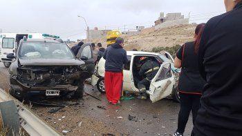 Fuerte accidente en Ruta 1: dos docentes fueron trasladadas al Hospital