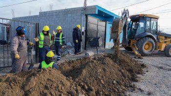 Avanza la obra que suministrará gas a 300 familias del Stella Maris