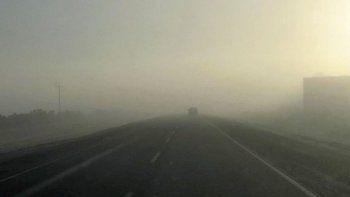 rutas humedas: transitar con extrema precaucion