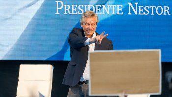 Alberto Fernández: estoy espléndido