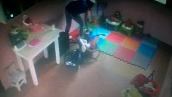Maltrato a bebé de 4 meses en jardín de infantes