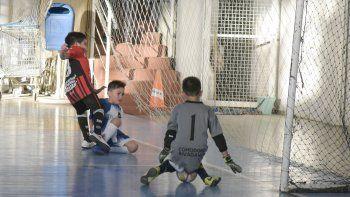 Se disputaron 32 partidos del futsal promocional, entre sábado y domingo.
