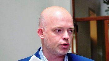 El ministro provincial de Salud, Adrián Pizzi.