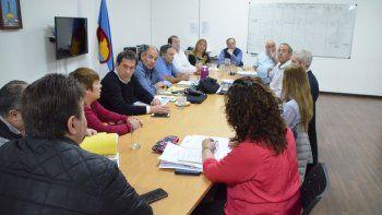 Los integrantes del Ente de Control de Servicios Públicos presentaron su informe en el Concejo Deliberante.