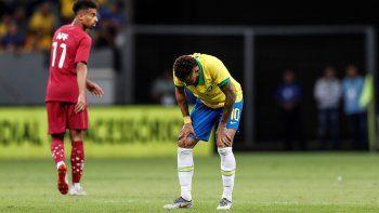 Neymar se lesionó y se pierde la Copa América