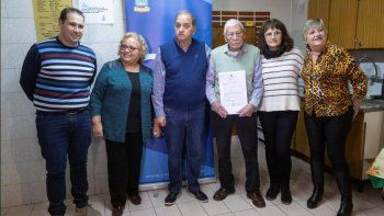 AJURPE recibió un aporte municipal por 200 mil pesos