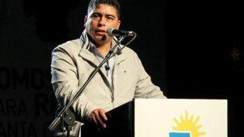 Claudio Vidal fue el principal orador en la presentación pública del nuevo partido político provincial denominado Somos Energía para Renovar Santa Cruz.