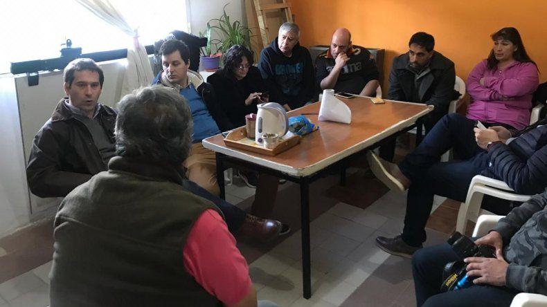 Vecinalistas de Laprida plantearon necesidades de su barrio al Concejo
