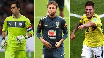 Los grandes ausentes de la Copa América