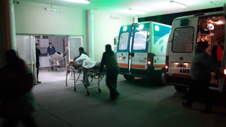 Una familia fue hospitalizada por inhalación de monóxido de carbono