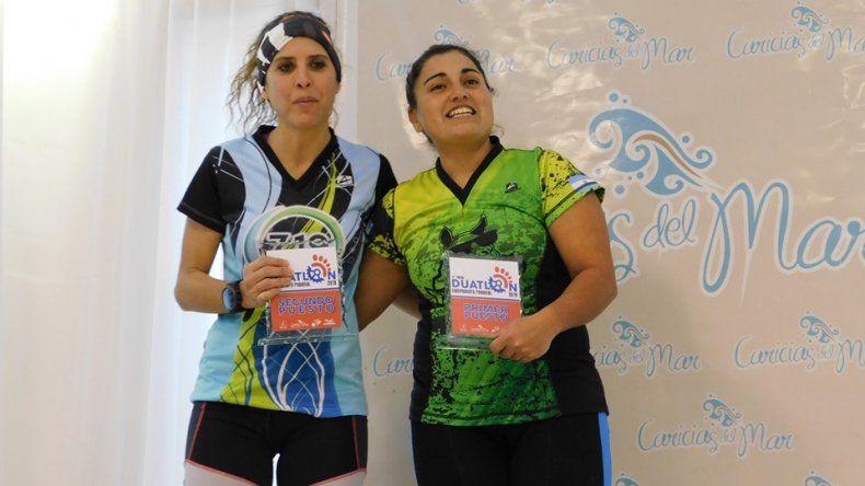 Hugo Berra y Viviana Quezada fueron los ganadores del duatlón