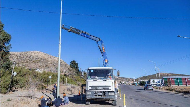 La obra procurará brindar mayor seguridad en un sector de tránsito rápido.
