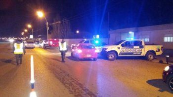 controles de saturacion con apoyo de policia federal en km 8