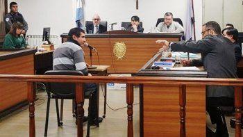 Héctor González, acusado de matar a otro hombre en El Calafate, fue juzgado en Río Gallegos.