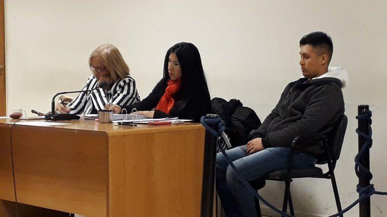 El carnicero Josué Martínez está imputado por el homicidio de Abelardo Liempis.