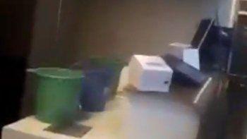 Se inundó el Aeropuerto de Comodoro a meses de su inauguración