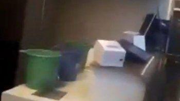El aeropuerto de Comodoro se volvió a inundar