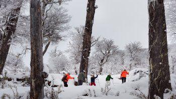 El Bolsón: sueño nevado  en cerro Perito Moreno