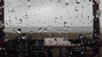 alerta por abundantes lluvias y vientos fuertes afecta el noreste de chubut