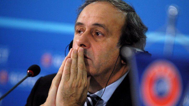 Detuvieron a Platini por presunta corrupción en la adjudicación del Mundial de Qatar