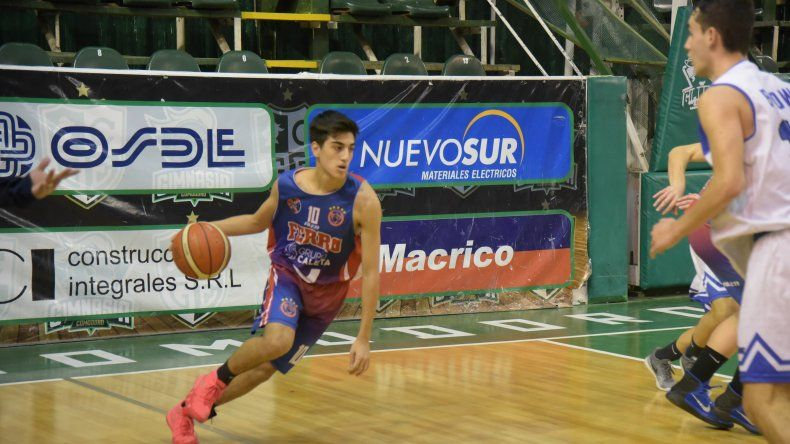 Ferrocarril Patagónico de Puerto Madryn se quedó con el título de la Liga Provincial de Básquetbol en la categoría U17.