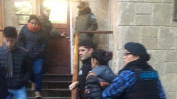 Los detenidos fueron llevados ayer ante la jueza federal, quien les notificó de qué se los acusa.
