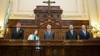 la corte suprema ordeno frenar la difusion de escuchas ilegales