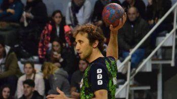Rodrigo Cosignani se despidió de la selección de balonmano de Chubut como capitán y con un subcampeonato.