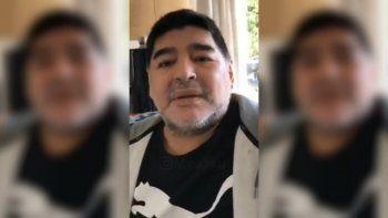 Maradona: yo no me estoy muriendo