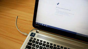 Desde el domingo unos 3.000 usuarios están afectados con problemas de servicio de internet.