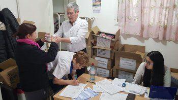 en kilometro 5 se realiza una nueva entrega de medicamentos solidarios