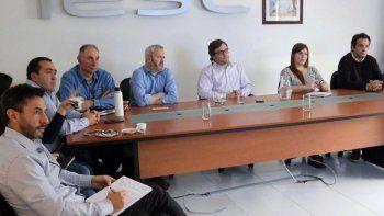 Funcionarios del Instituto de Energía y de la operadora CGC se reunieron para coordinar el desarrollo de un proyecto de almacenamiento de gas natural.