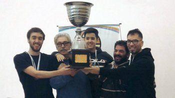 El equipo super campeón a pleno, tras ganar todos los puntos en el Provincial que se realizó en Comodoro Rivadavia.