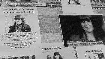 Nación ofrece 500 mil pesos por datos sobre Norma Carrizo