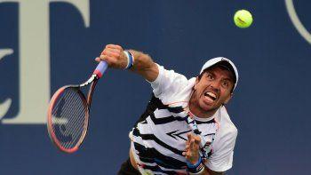 Carlos Berlocq es uno de los seis argentinos que quedaron eliminado en la clasificación para ingresar al Abierto de Wimbledon.