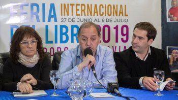 Linares y Luque realizaron la presentación del gran encuentro cultural que comienza este jueves.