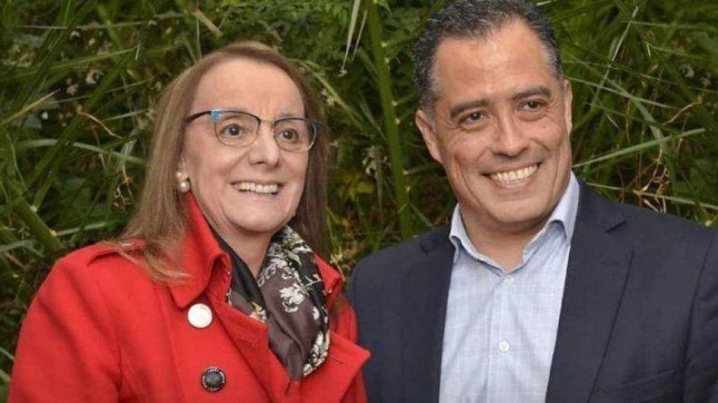 Alicia Kirchner se repostula como gobernadora y eligió como compañero de fórmula al ex diputado por pueblo de Caleta Olivia, Eugenio Quiroga.