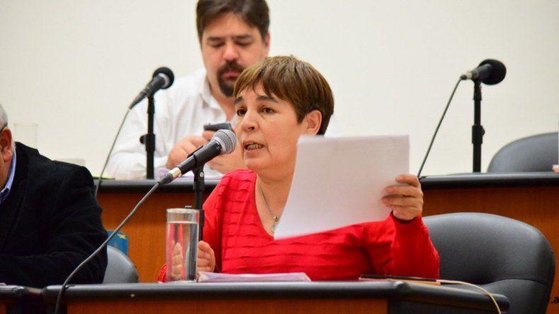 La iniciativa fue presentada por la concejal Beatriz Neira.