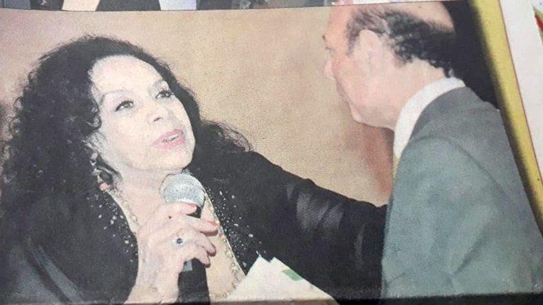 El día que Coca Sarli visitó Comodoro Rivadavia