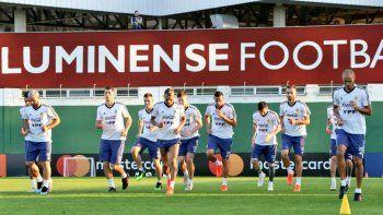 La selección argentina de fútbol trabajó ayer en el predio del club Fluminense con miras al partido del viernes ante Venezuela por los cuartos de final de la Copa América.