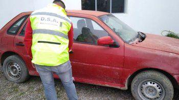 recuperan un auto robado en 2017