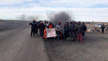 desalojaron la ruta 43 y detuvieron a 16 manifestantes