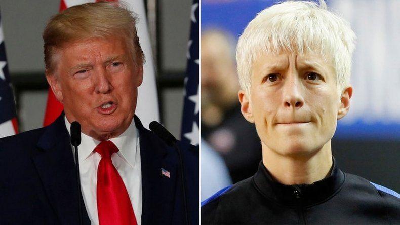 La guerra entre Trump y la capitana de la selección de Estados Unidos