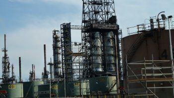 La refinería que PAE tiene en Campana.