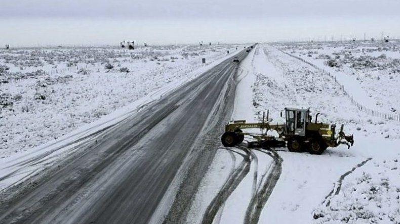 Rutas nevadas: circular con extrema precaución