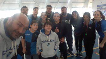 Calafate RC es uno de los cuatro clubes locales que formó parte de la capacitación.