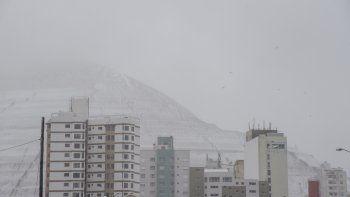 ¿Vuelve a nevar en Comodoro?