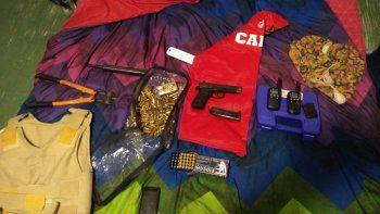 Incautan un arma y municiones a un delegado sindical de UOCRA