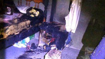 Murió la mujer del trágico incendio en Madryn