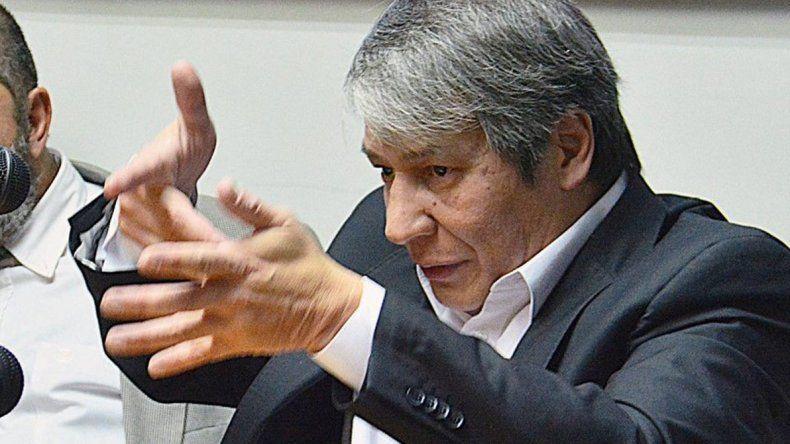 El abogado Romero en huelga de hambre